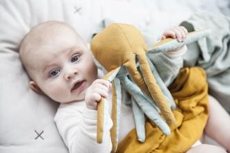 Doudou Hochet Octopus