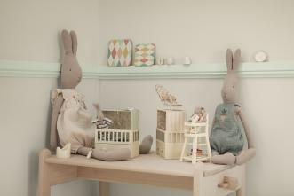 Doudou Lapin Rabbit combinaison L