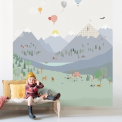 Fresque de Papier peint Mountains