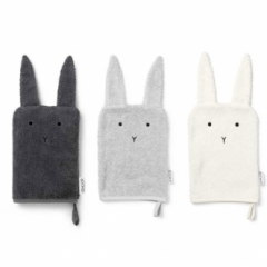 Gant de toilette Sylvester Rabbit - Lot de 3