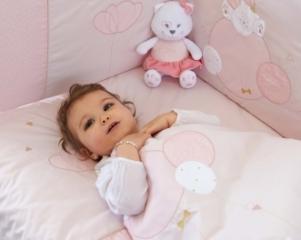 Gigoteuse naissance cache coeur Mademoiselle 0-6 mois