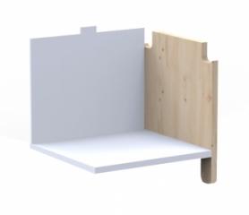 Kit vertical étagère pour kit latéral Asymetry