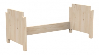 Kit vertical petit bureau Asymetry