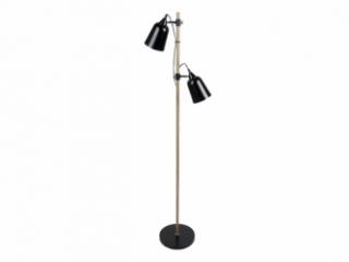 Lampe sur pied Wood-Like 2