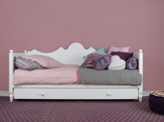 Lit banquette Belle + barrière de lit