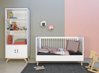 Lit bébé évolutif Lynn 70x140
