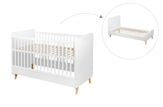 Lit bébé évolutif Loft 70x140