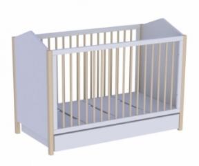 Lit bébé évolutif Ninon 70x140