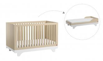 Lit bébé évolutif Playwood 70x140