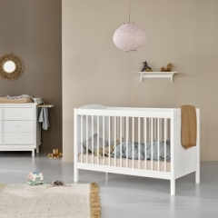Lit bébé évolutif Seaside Lille + 68x130