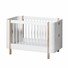 Lit bébé évolutif Wood Mini +