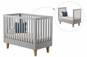 Lit bébé évolutif Lounge 70x140