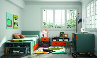 Lit enfant Madaket + tiroir lit