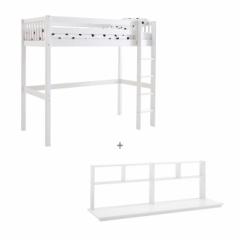Lit mezzanine Crossbar 90x200 + bureau