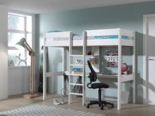 Lit mezzanine Wild + espace bureau