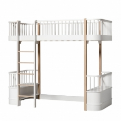 Lit mezzanine Wood