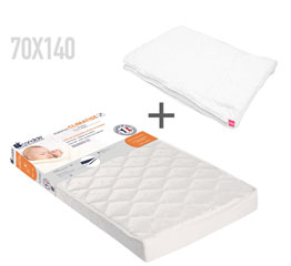 matelas 70x140 pour lit b b file dans ta chambre. Black Bedroom Furniture Sets. Home Design Ideas