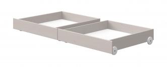 Lot de 2 tiroirs Lit Classic 200