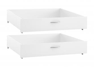 Lot de 2 tiroirs Lit Romantic Crossbar 200