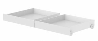 Lot de 2 tiroirs Lit White 190
