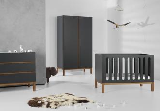 Mini chambre bébé Indigo évolutive 60x120
