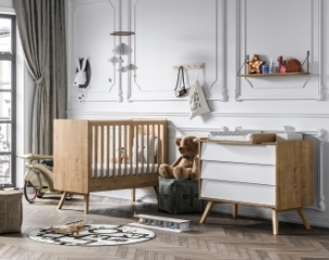 Mini chambre bébé Vintage