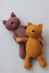 Missy Knit Teddy Cat