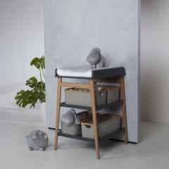 Panier Bambou pour Table à langer