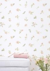 Papier peint Aquarelle fleurs