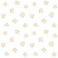 Papier peint Floral rétro