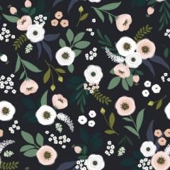 Papier peint Motif fleurs