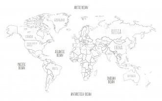 Papier Peint-WorldMap
