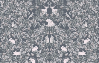 Parure de lit 100x140 Fauna Percale
