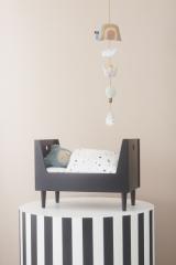 Parure de lit pour lit de poupée