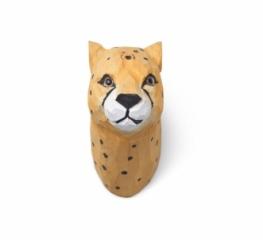 Patère sculptée Cheetah le guépard