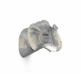 Patère sculptée Elephant