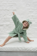Peignoir Ours polaire Mr Polar Bear 5-6 ans