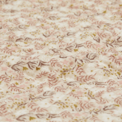 Plaid 100x100 mousseline de coton Aurora