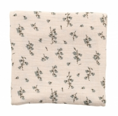 Plaid 110x110 Bluebell Muslin