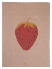 Plaid 80x100 Fruiticana Strawberry