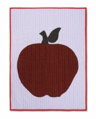 Plaid 80x110 Apple pomme