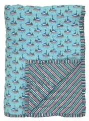 Plaid quilté 150x220 Fishermen