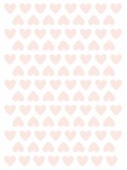Planche de stickers Cœurs