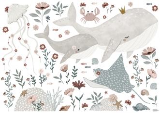Planche de Stickers Décor L Under the Sea