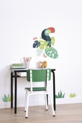 Planche de Stickers Toucan