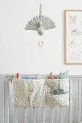 Pochette de lit bébé Leaves