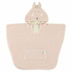 Poncho Lapin Mrs Rabbit