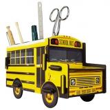 Porte-stylos School Bus