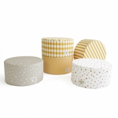 Pouf Little Soho Stripes
