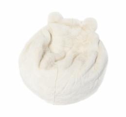 Pouf polaire ours blanc